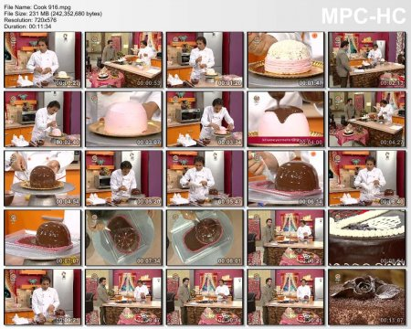 فیلم آموزش طرز تهیه تزئین کیک (توضیح درباره شکلات)