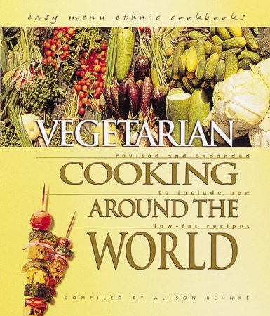 کتاب آشپزی Vegetarian Cooking Around the World