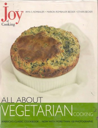 کتاب آشپزی (انگلیسی) Joy of Cooking --All About Vegetarian Cooking by Irma S. and et al