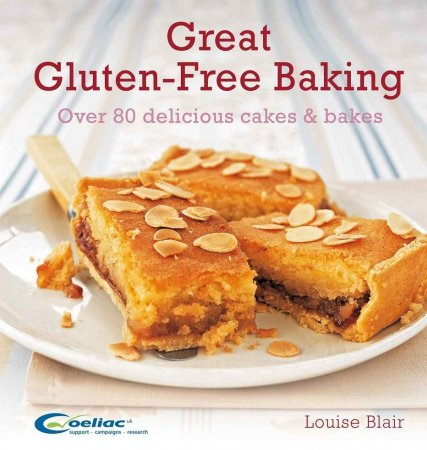 کتاب آشپزی (انگلیسی) Great Gluten-Free Baking Over 80 Delicious Cakes and Bakes
