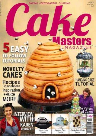 مجله Cake Masters June 2015