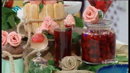فیلم آموزش طرز تهیه مربا و شربت و مارمالاد توت فرنگی - پری ناز گل آور