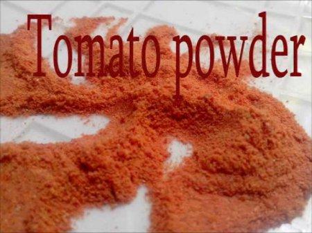 فیلم آموزش طرز تهیه پودر گوجه فرنگی در خانه