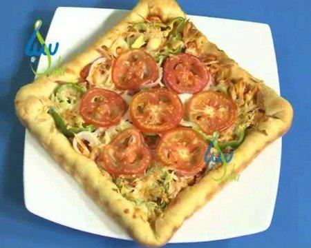 فیلم آموزش طرز تهیه پیتزا