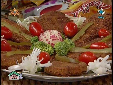 فیلم آموزش طرز تهیه نخود پلو و کوکوی سبزیجات با سویا - خانم معصومه عیوضی