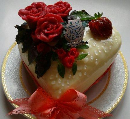 کیک شربتی خانم گل آور کیک و شیرینی