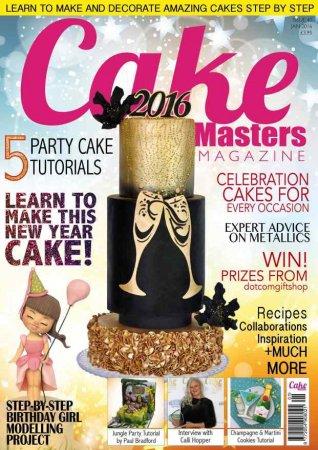 مجله Cake Masters January 2016