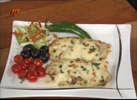 فیلم آموزش طرز تهیه ماهی هوکی با پنیر (توفری) - آقای حمیدرضا رنجبر